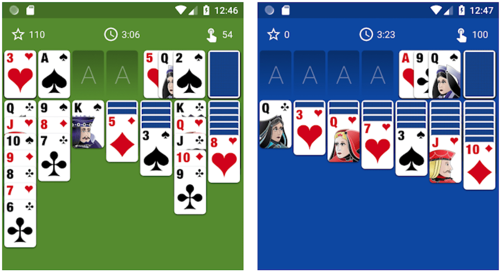 Solitaire the game android