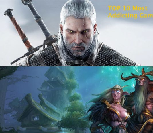 Top 10 most addicting games