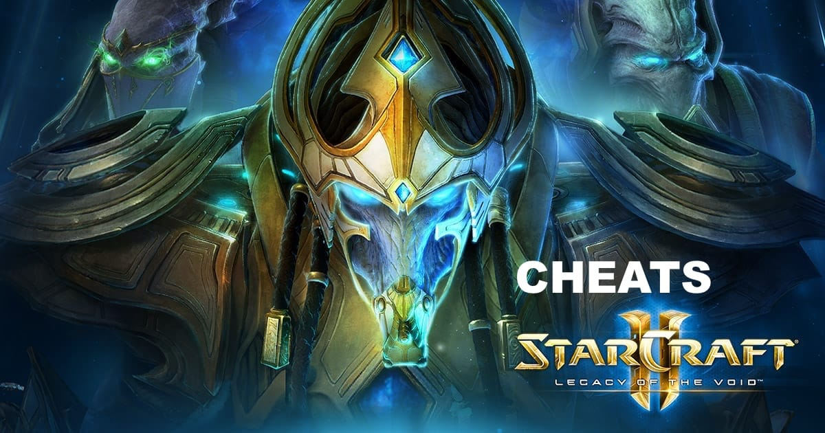 Starcraft 2 Cheats – See all Legacy of the Void & Wings of