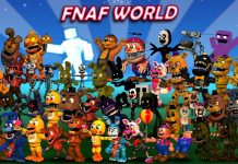 Play Fnaf world online for free