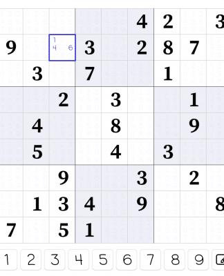 Web sudoku