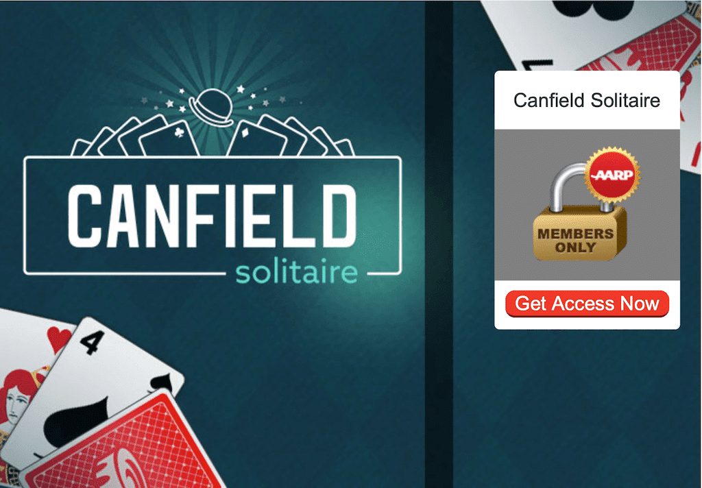 aarpgames canfield solitaire