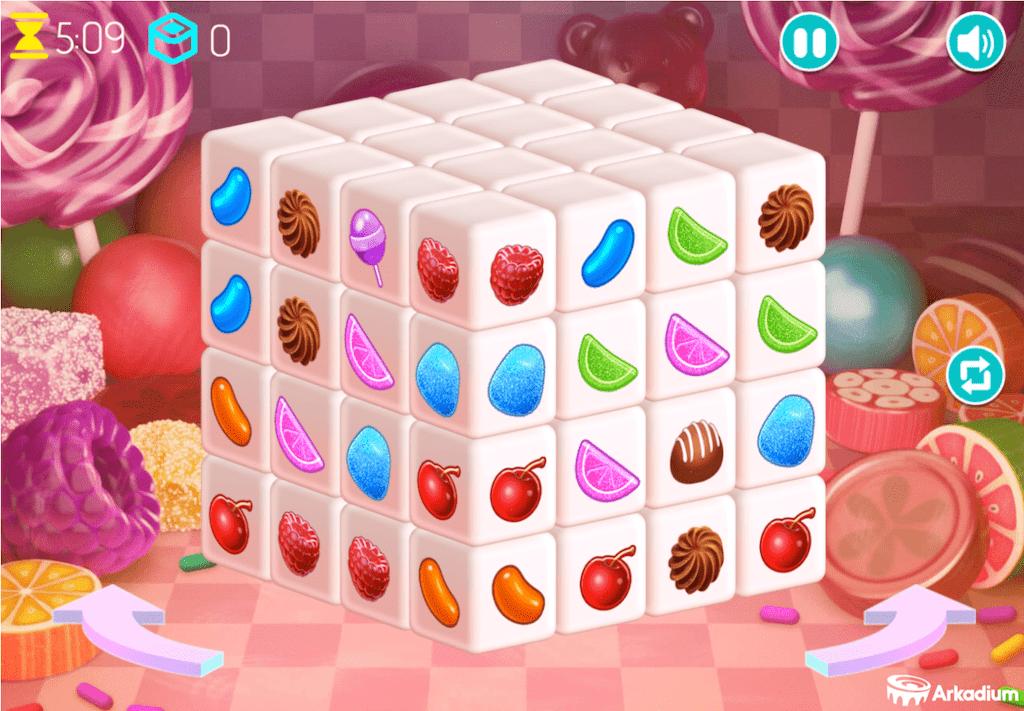 Mahjongg candy - aarpgames