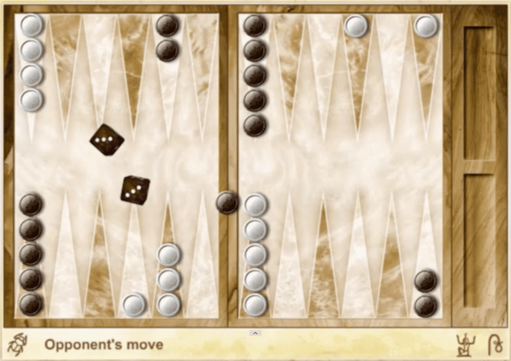 agame Egyptian backgammon board online multiplayer