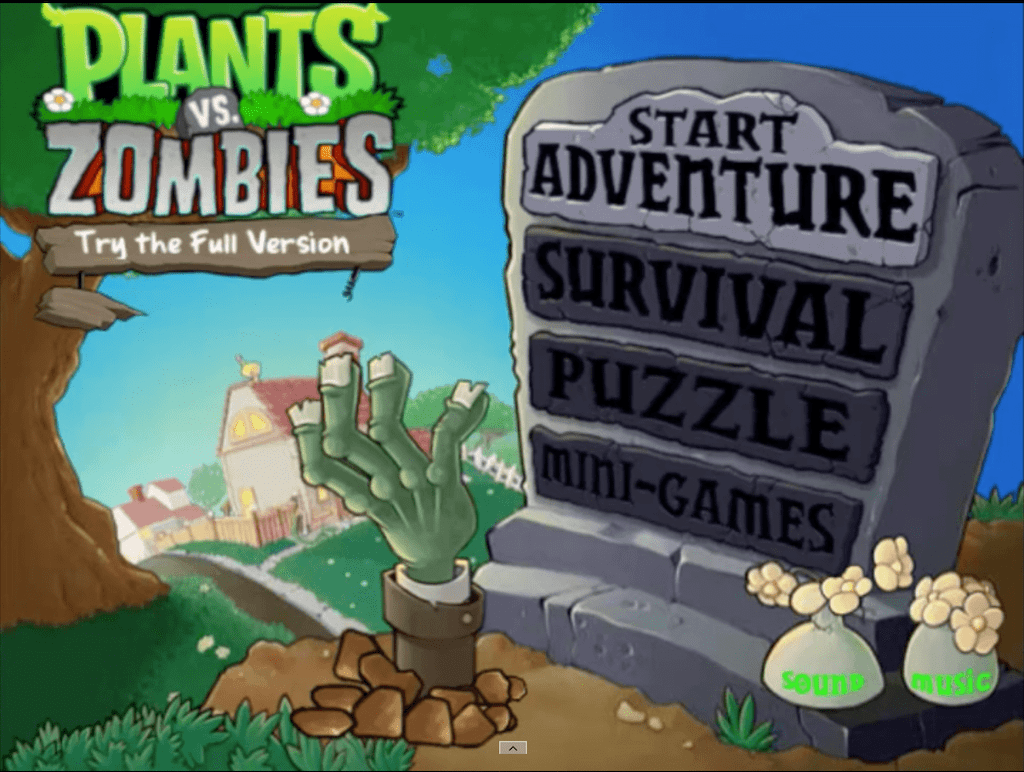 agame plants vs zombies