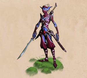 Elvenar Elves sword dancer