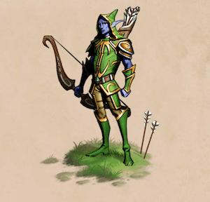 Elvenar Elves Archer