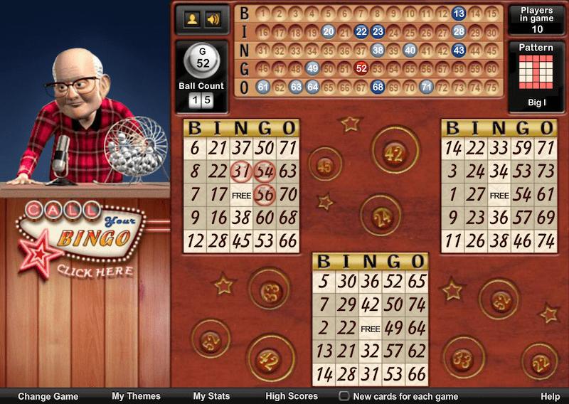 aol games bingo