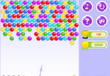 Bubble shooter Full screen