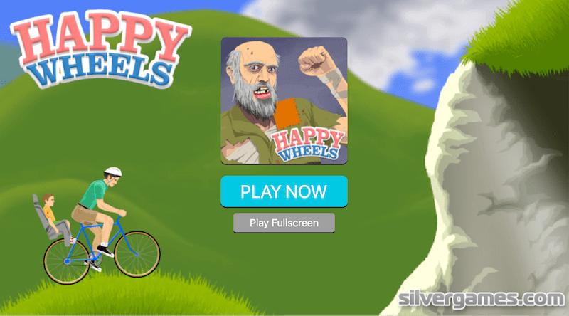 happy wheels silver games