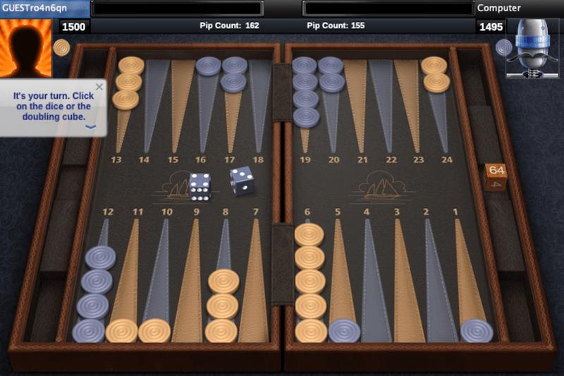 aol backgammon online