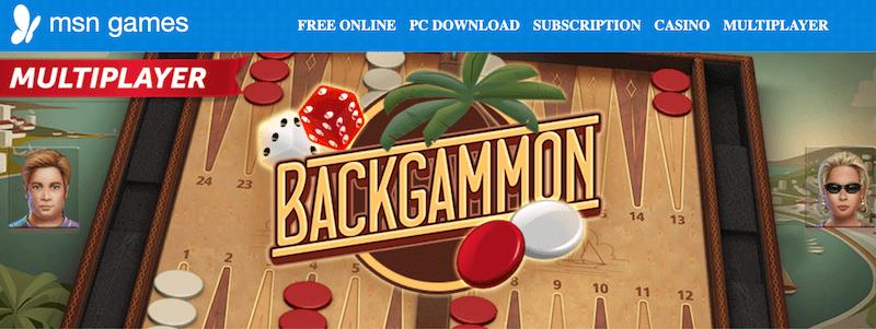 msn backgammon online multiplayer
